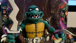Teenage Mutant Ninja Turtles: Turtles In Time NECA Toys Slash Action Figure Unboxing & Review