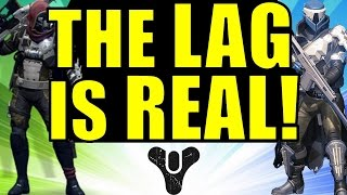 Destiny: THE LAG IS REAL! | Crucible PvP Lag & Why Destiny needs Dedicated Servers!
