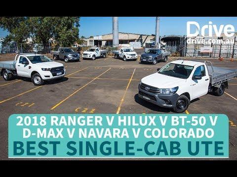 Best Single-Cab Ute: 2018 HiLux V Ranger V BT-50 V D-Max V Navara V Colorado | Drive.com.au