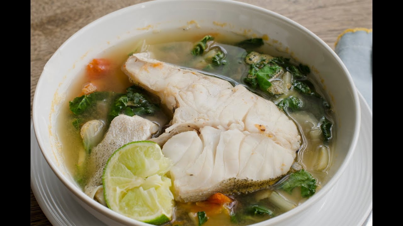 How to make tinolang isda fish soup youtube for How to make fish soup