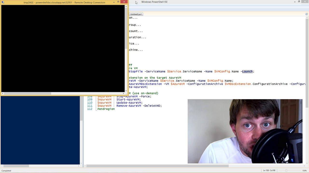 Microsoft Azure VM Extension for PowerShell DSC
