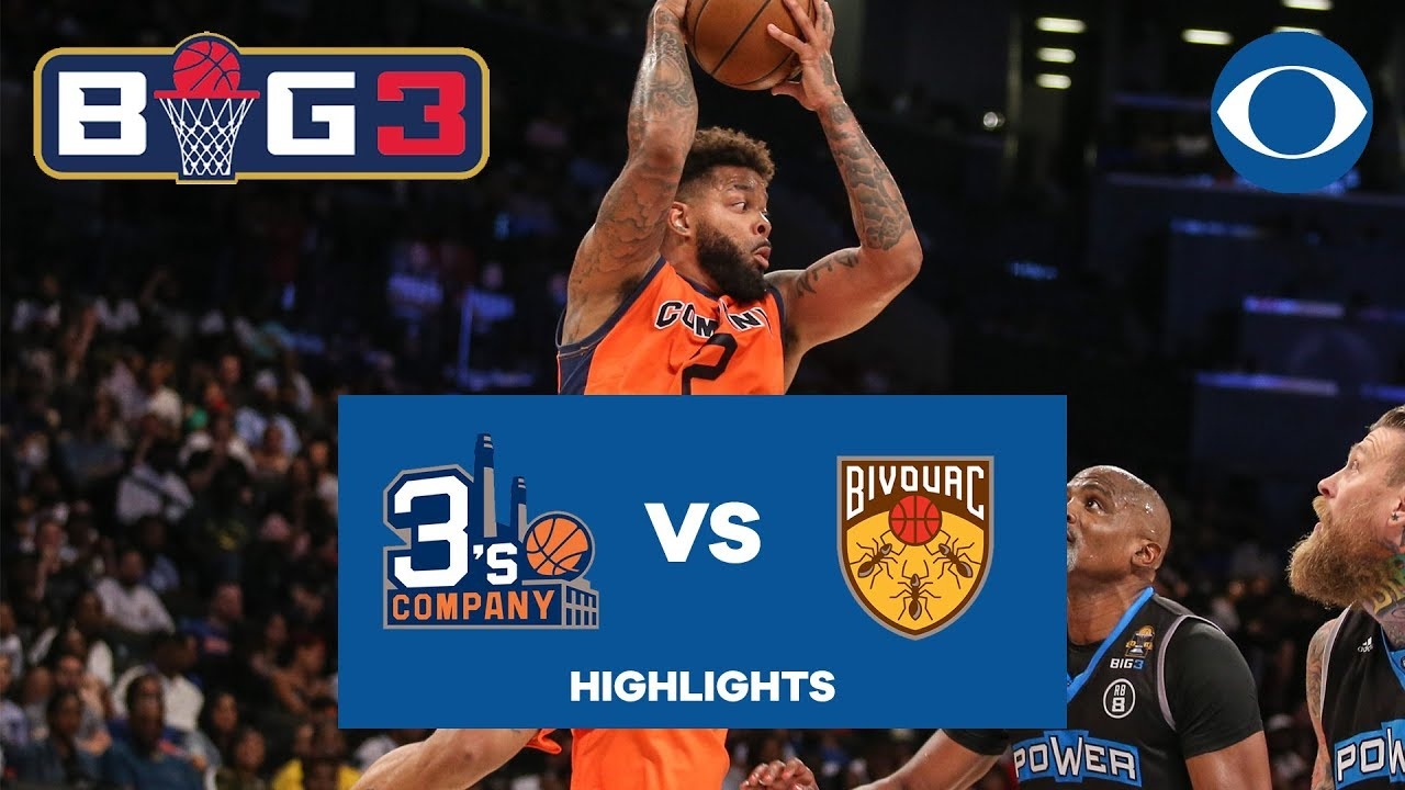 Andre Emmett ERUPTS for 21 points I 3's Company earns second win of BIG3 season | CBS Sports