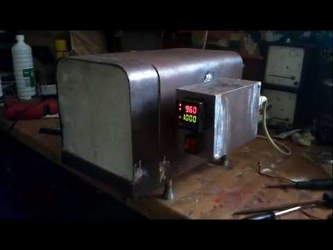 Homemade Electric Kiln Furnace Oven Near To Be Finished