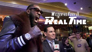 Behind the scenes with Wilder and Fury at the Grand Arrivals | Wilder vs Fury II: REAL TIME - Ep. 7