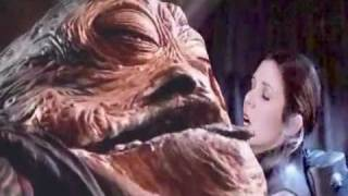 Carrie Fisher becomes Jabba's slave