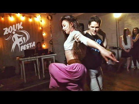 Festa Party. Ivan Bubnov And Julia Ivanova. Zouk Improvisation. (Bad Karma)