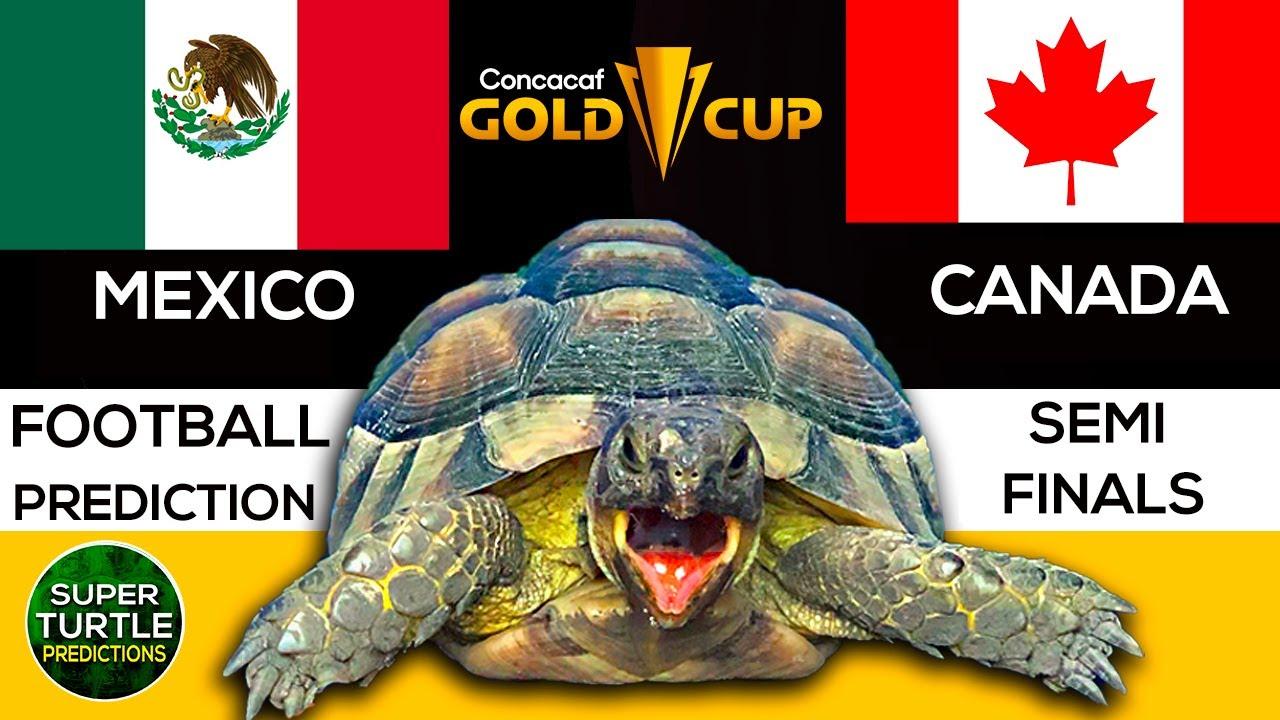 Gold Cup 2021 Concacaf ⚽ Mexico vs Canada 🐢 Soccer Predictions (Football)
