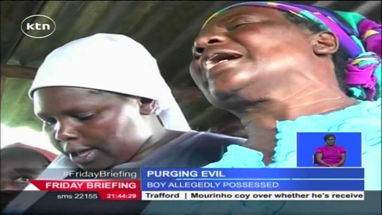 Download Bizarre: Family and friends claim eleven year old boy from Kabete possessed by evil spirits