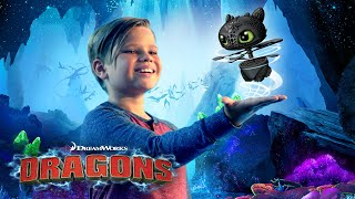 DreamWorks How To Trąin Your Dragon - Flying Toothless! Can YOU train Toothless to fly for real!?