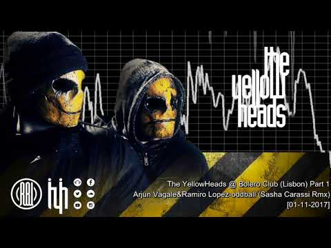 The YellowHeads  @ Bolero Club (Lisbon) 01-11-2017 [Part.1]