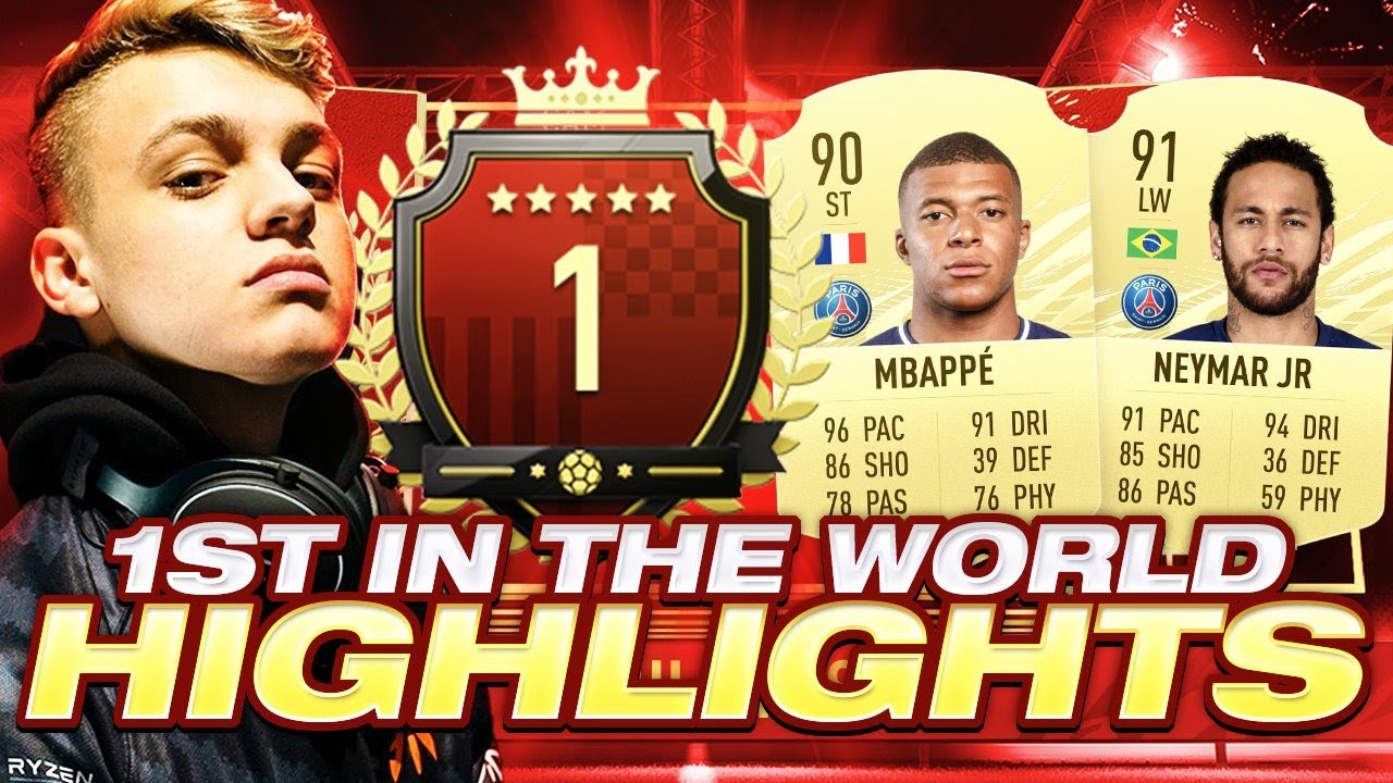 FINISHING 1ST IN THE WORLD IN FUT CHAMPIONS! INSANE HIGHLIGHTS! #FIFA21 Ultimate Team
