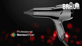 Braun Satin-Hair 7 Professional SensoDryer HD 785, HD 780 - Product video