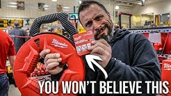 NEW MILWAUKEE ELECTRICIAN TOOLS THAT YOU DON'T KNOW ABOUT! (Shock Warning)