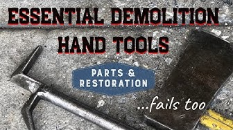 Powerful Hand Tools for Demolition | How to Demolish | New York Hook and Flat Head Axe | DIY Remodel