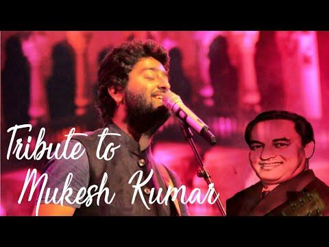 Tribute to Mukesh Kumar | kabhi kabhi mere dil me | Kahi Door Jab Din Dhal Jaaye | Arijit Singh LIVE