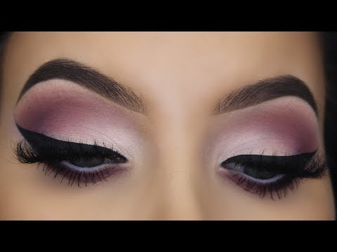 matte-eye-makeup-tutorial-giveaway-|-huda-beauty-new-nude-eyeshadow-palette