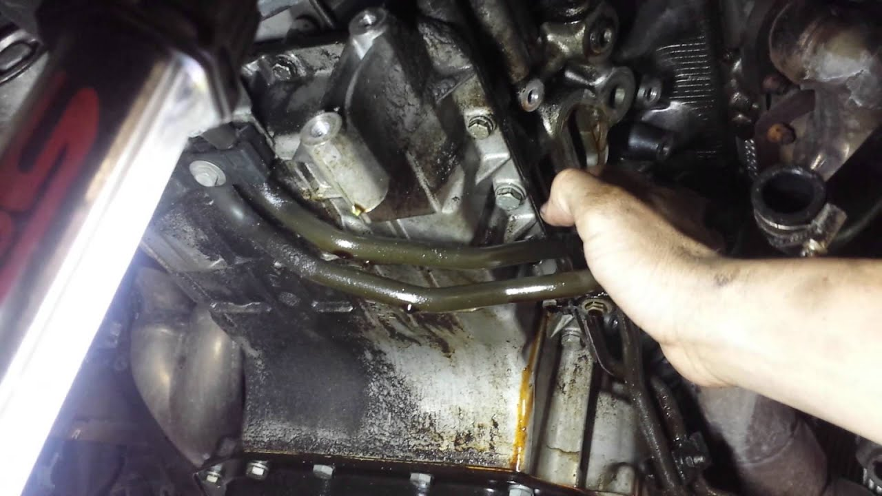 Bmw E65 Alternator Bracket Gasket Replace Youtube