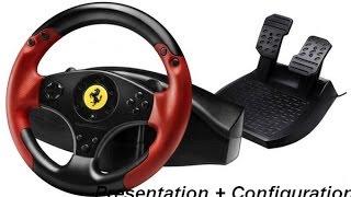 -Presentation et configuration de mon volant- Thrustmaster Ferrari Racing wheel red lengend edition