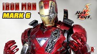 Hot Toys IRON MAN MARK 6 Diecast Review BR / DiegoHDM