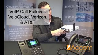 VoIP Call Failover with VeloCloud SD-WAN, Verizon, AT&T Internet