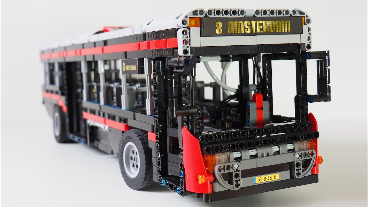 lego technic bus youtube. Black Bedroom Furniture Sets. Home Design Ideas