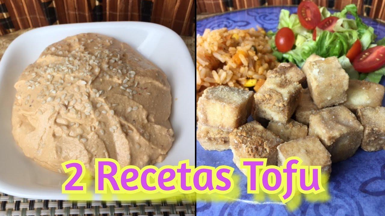 🥘2 recetas con TOFU FÁCILES😇 FRITO y en ADEREZO (Paso a paso)