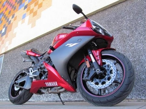 used 2007 yamaha r1 motorcycle for sale youtube. Black Bedroom Furniture Sets. Home Design Ideas