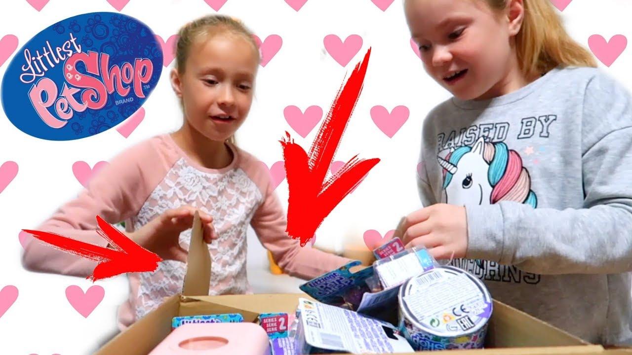 Littlest Pet Shop Food Fest петы в консервных баночках от Hasbro распаковка