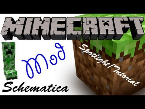 Minecraft Spotlight: SCHEMATICA - In-Game Schematics (1 6 4) -= Mod  Showcase & Tutorial =-