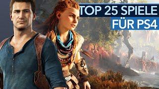 Die besten aktuellen Spiele für  PlayStation 4