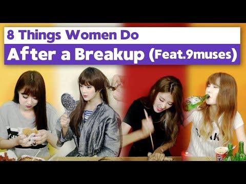 Things Women Do After A BREAKUP💔 [Snack Video] • ENG SUB • dingo kbeauty