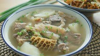 Kampar Beef Soup Noodle - 金寶牛腩麺