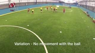 Stage 2: Small Sided Game - End Ball with variations
