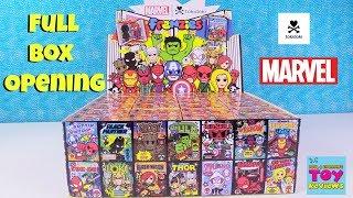 Marvel Tokidoki Frenzies Full Box Comic Book Blind Box Opening   PSToyReviews