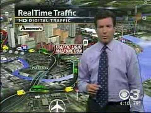 KYW CBS 3 Real Time Traffic