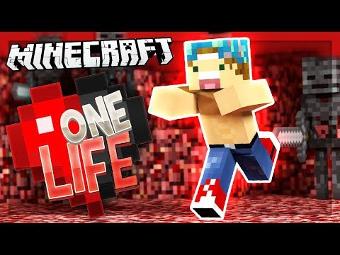 FINDING WITHER SKULLS IN THE NETHER! | One Life SMP #34