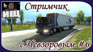 Стримчик с Невзоровым #6 - Играем в Euro Truck Simulator 2 и в Другие Различные Игры! - [© Стримы]
