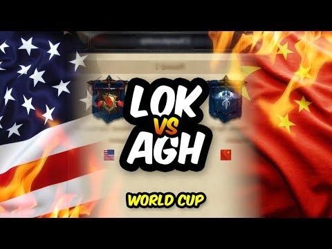 CHINA vs USA - WORLD CUP FINALS - AGH vs LoK - LIVE - Clash of Kings