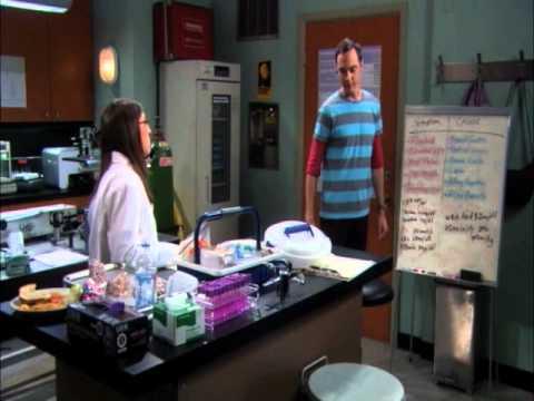 Sheldon Cooper & Amy Farrah Fowler - La Hipótesis Del Parásito Alienígena (Español)