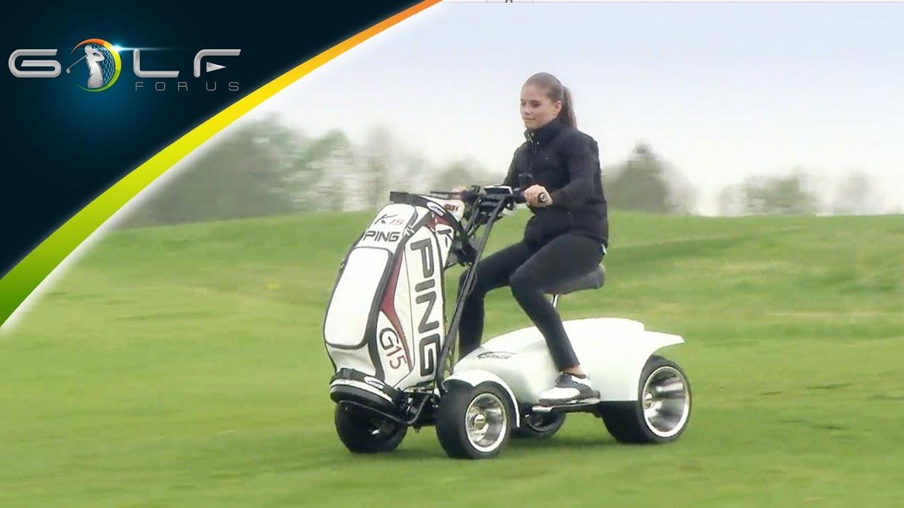 Golf Trolley Test