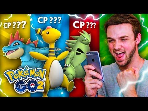 Pokemon GO GEN 2 - TOP 10 POKEMON! (BEST GENERATION 2 CP)