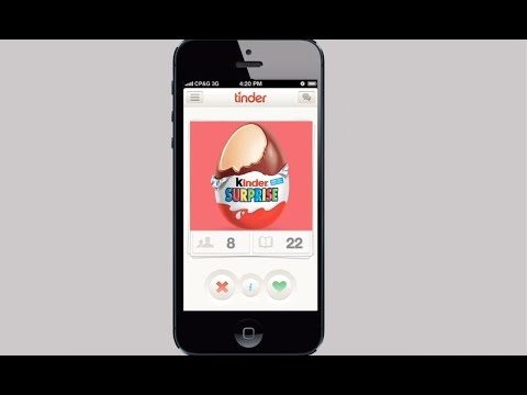 Difference between kinder and tinder