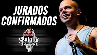 JURADOS CONFIRMADOS De La FINAL INTERNACIONAL Red Bull Batalla De Los Gallos México 2017