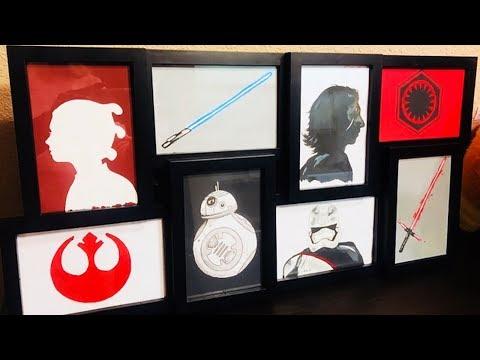 Making Art in My Hotel Room - Star Wars