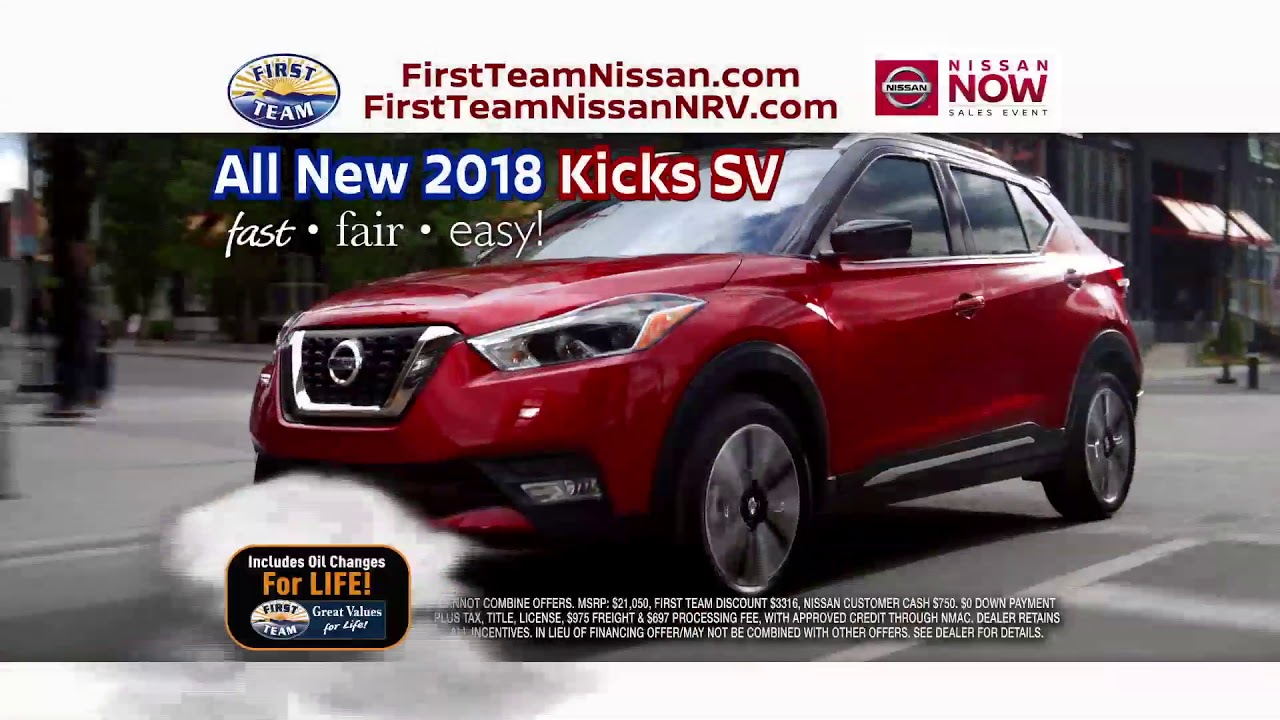 First Team Nissan >> First Team Nissan Now Event Youtube