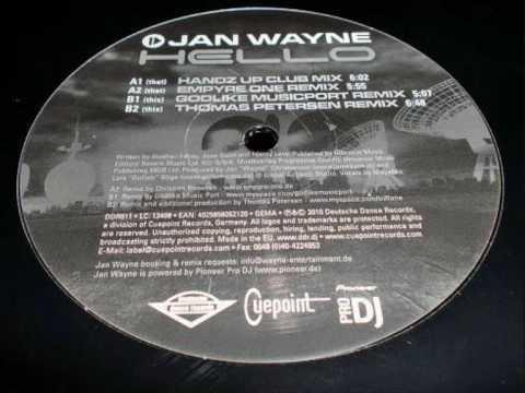 Jan Wayne - Hello (Thomas Petersen Remix)