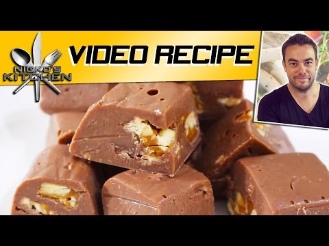Snickers Fudge | Nicko's Kitchen