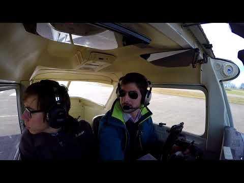 C152 FLIGHT TO SW SWITZERLAND | TURBULENCES