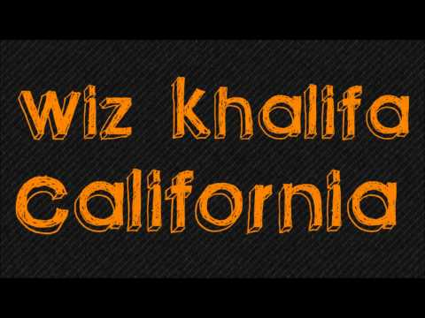 WIZ KHALIFA - CALIFORNIA (Official Video)