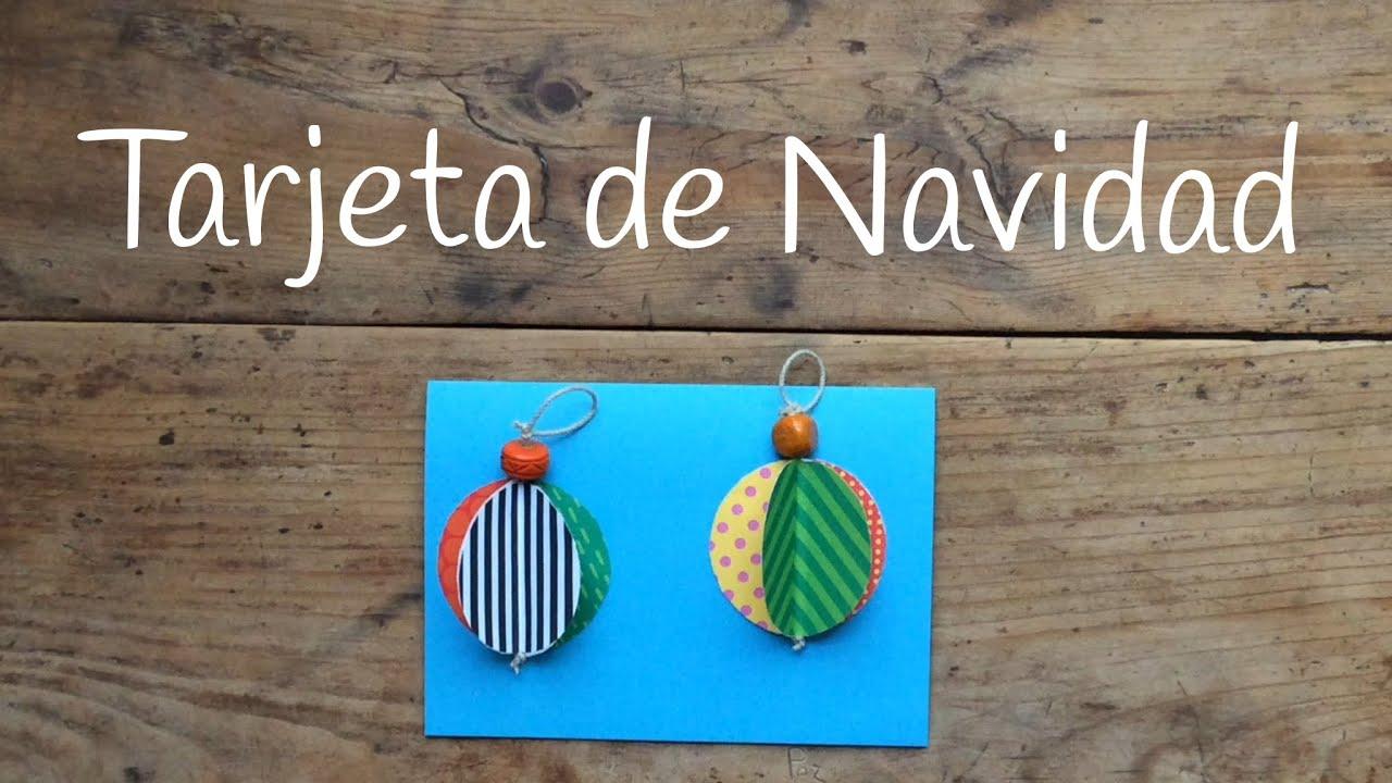 Tarjetas de navidad para ni os en 3d bolas navide as de - Bolas de navidad para ninos ...